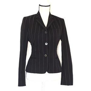 Ralph Lauren collection 3 button stripe blazer s/6